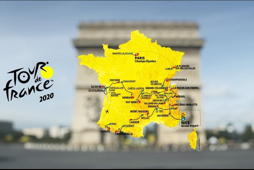 Tour De France 2020 Route Stages And How To Watch Eurosport