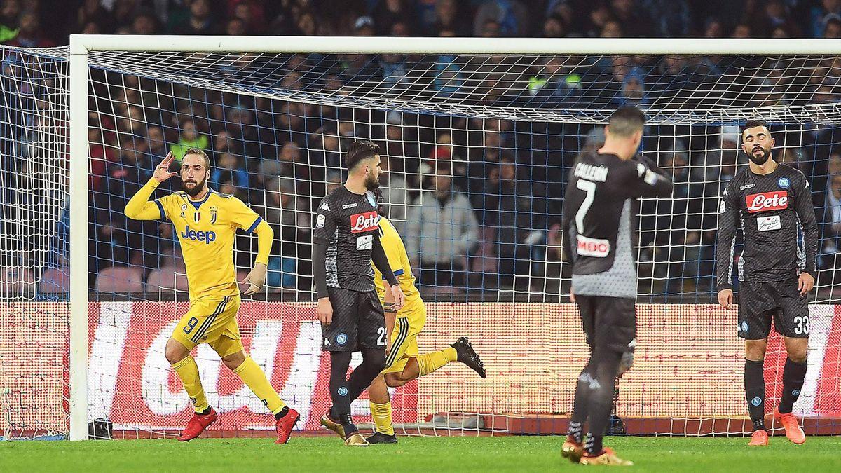 Napoli Juventus In Diretta Tv E Live Streaming Serie A 2017 2018 Calcio Eurosport