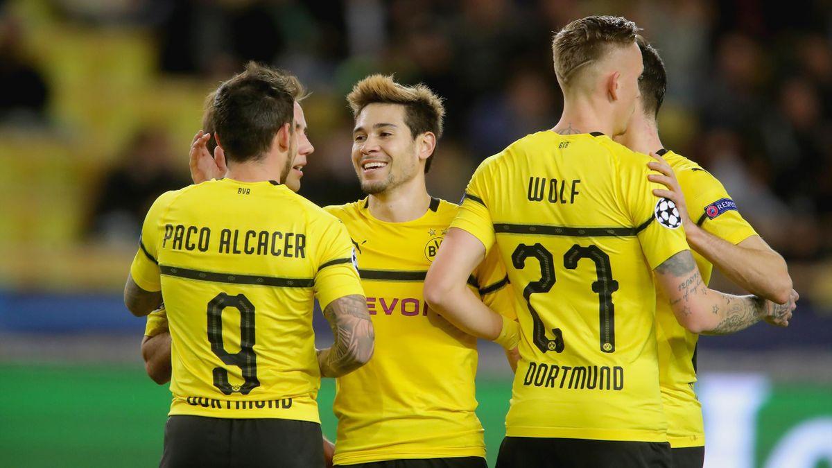 Fussball Dortmund Monaco