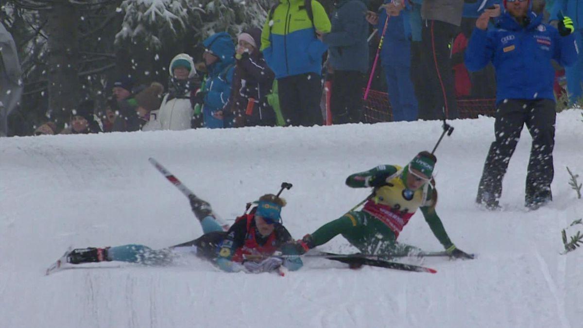 Biathlon Oberhof Verfolgung Damen