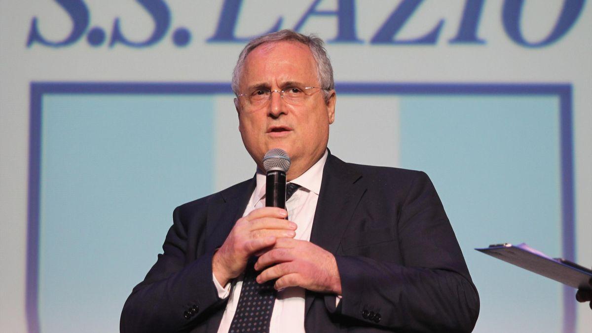 Lazio, Lotito lancia la proposta: