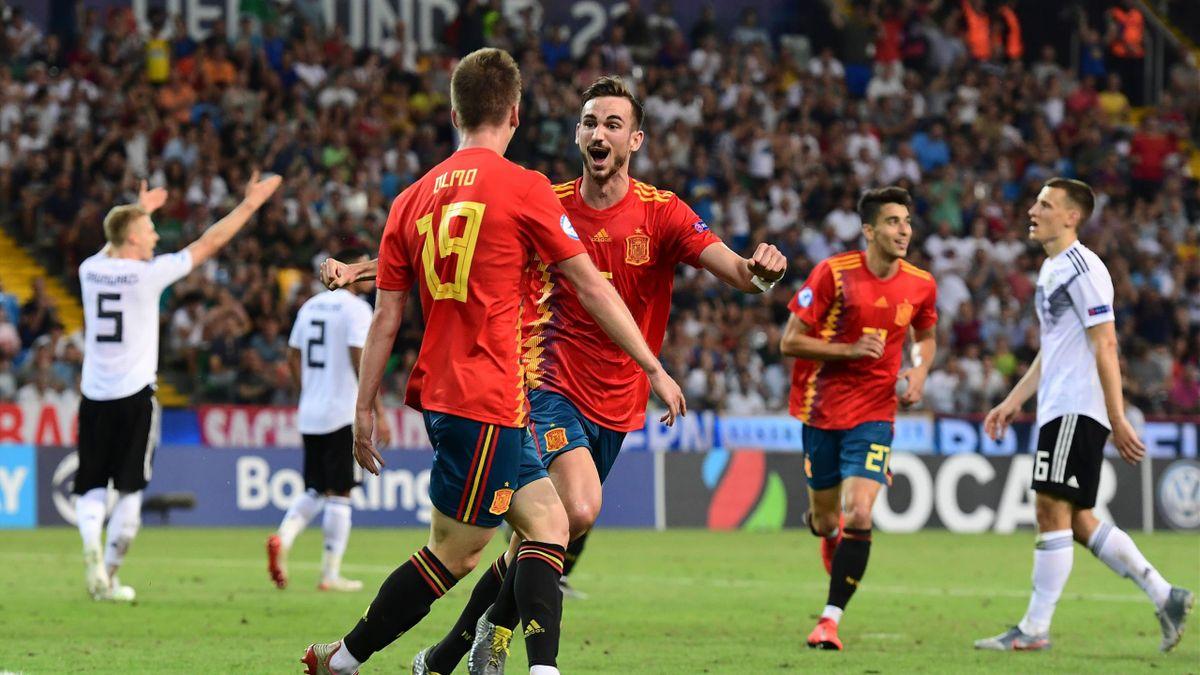 Deutschland Gegen Spanien U21