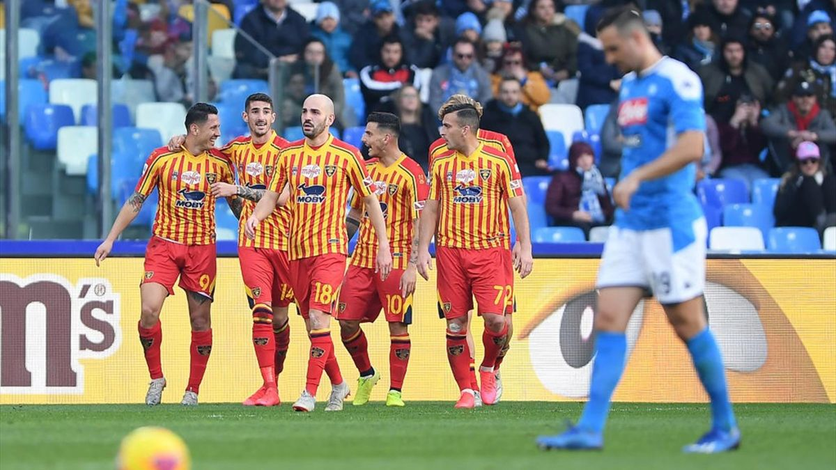Il Napoli cade in casa col Lecce, Pandev rialza il Genoa ...