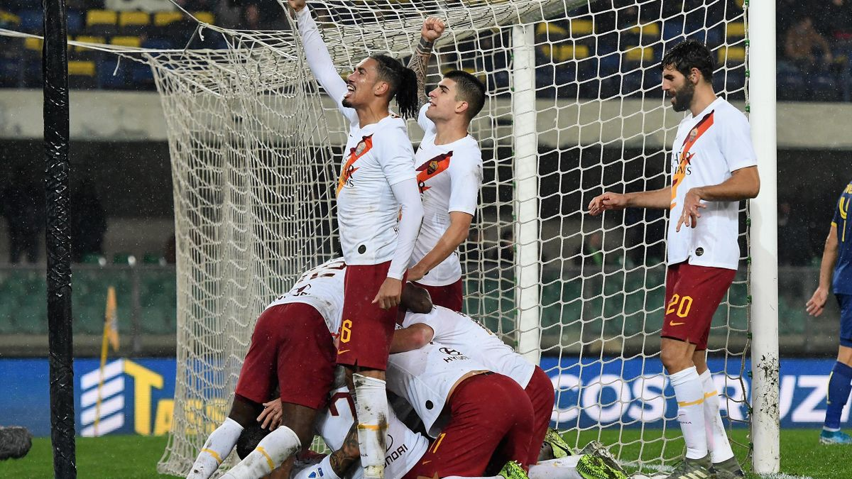 Le pagelle di Verona-Roma 1-3: Pellegrini incanta, rinasce ...
