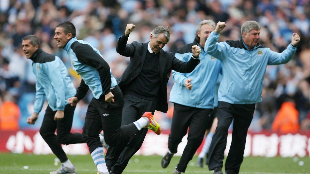 Роберто Манчини в «Манчестер Сити»