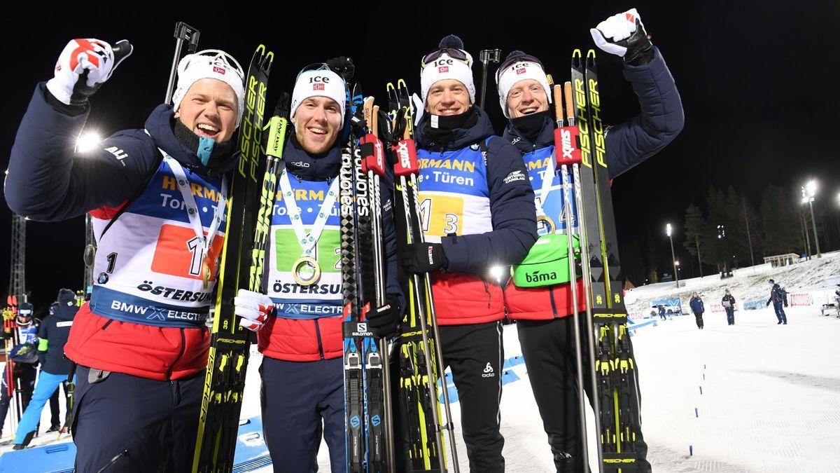 Olympia Biathlon Staffel