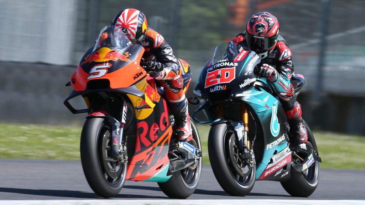 Zarco sans moto — MotoGP