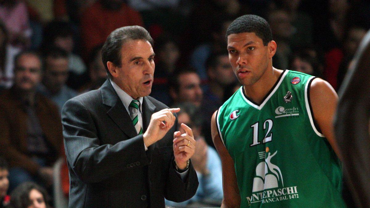 Charlie Recalcati e Justin Hamilton, Montepaschi Siena, Serie A 2005