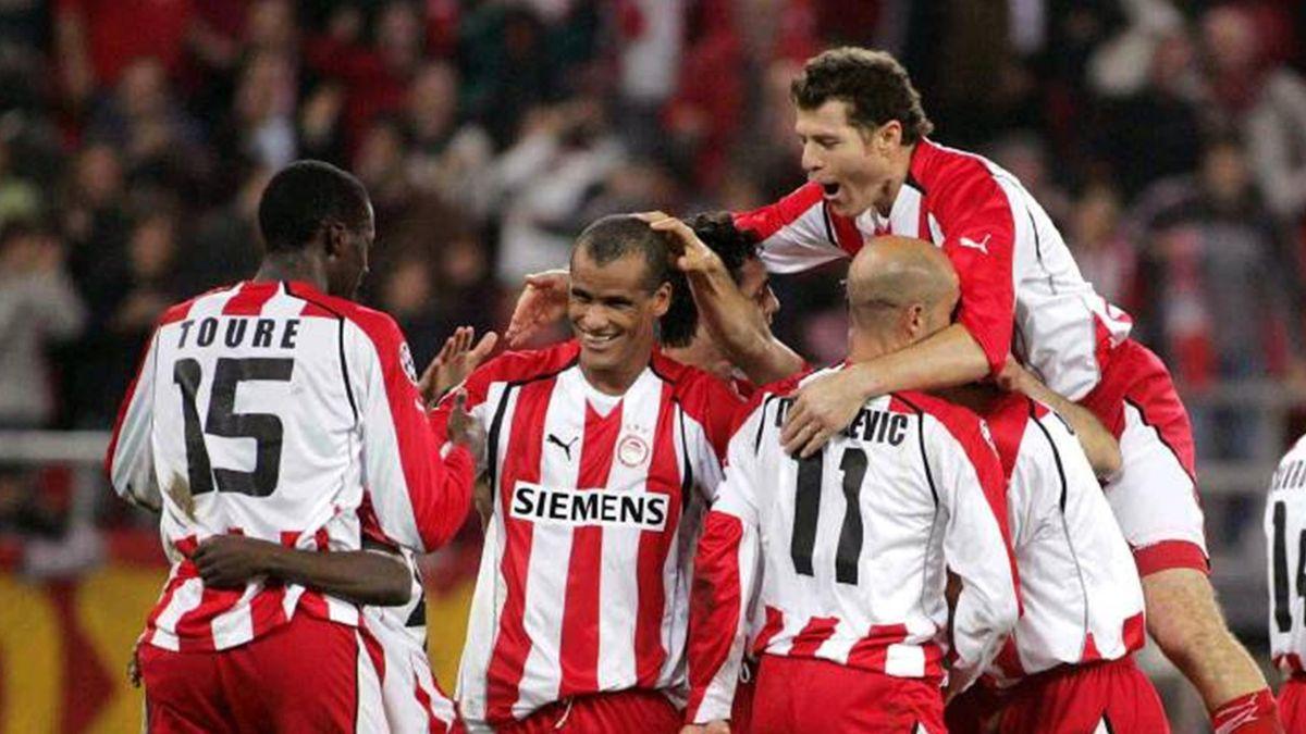 FOOTBALL 2005-2006 European Leagues Olympiakos