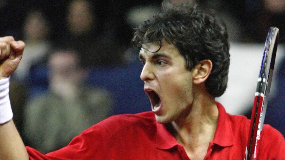 TENNIS - 2006 Davis Cup - Ancic reacts