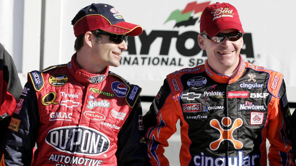 NASCAR - 2006 Daytona 500 Pole - Jeff Burton