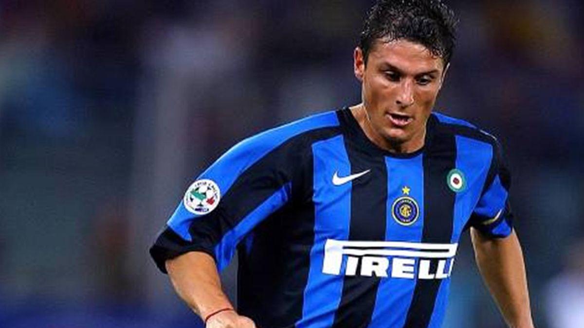 FOOTBALL 2005-2006 Serie A Inter Javier Zanetti