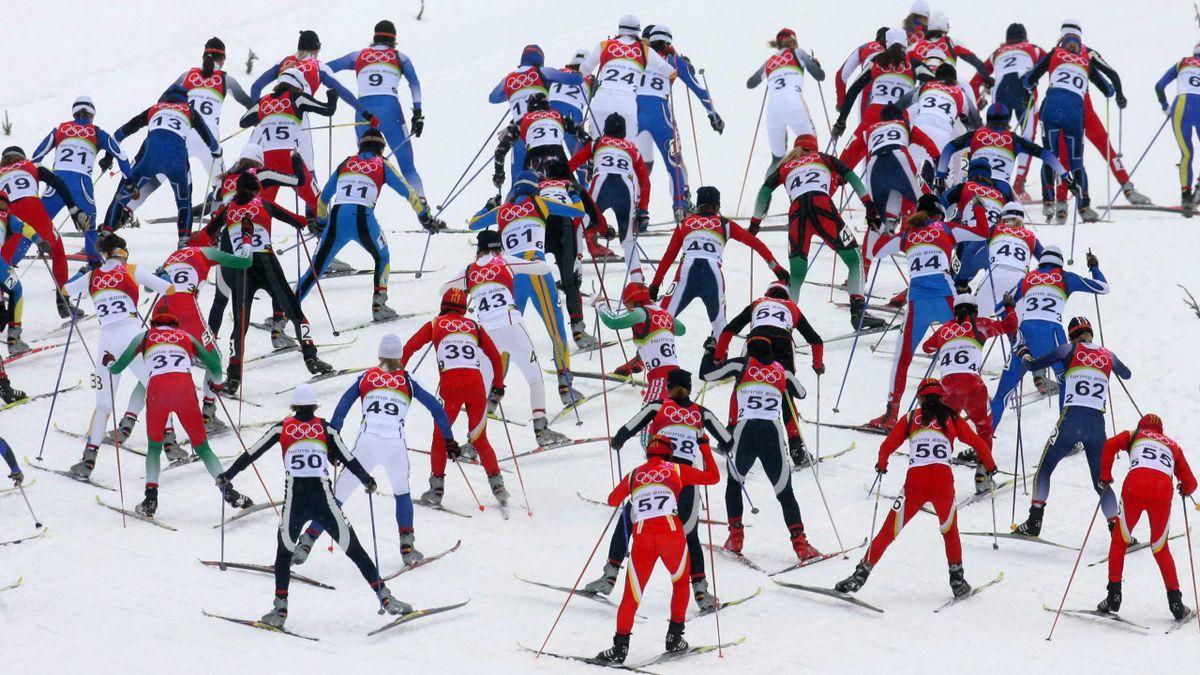 CROSS-COUNTRY SKIING 2005-2006 Torino 30 km F Mst - Mass Start