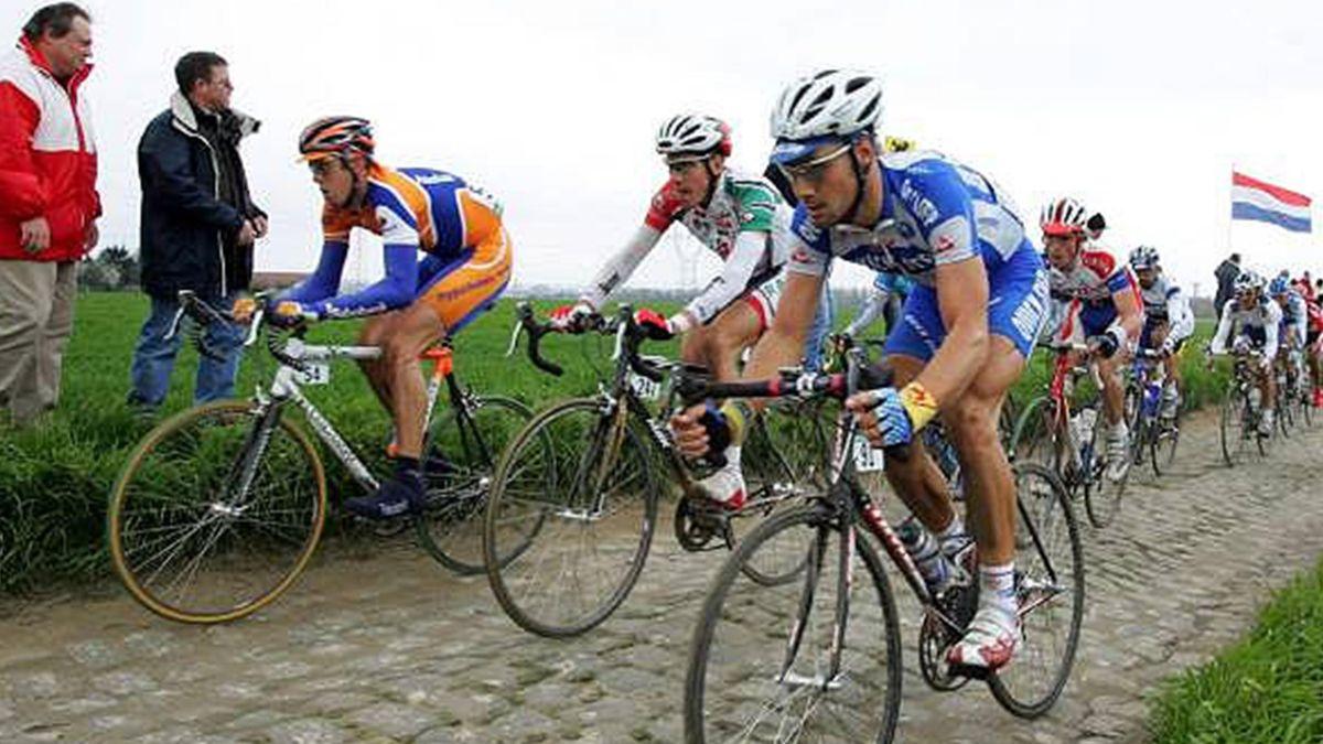 CYCLING 2006 Paris-Roubaix Tom Boonen 2005