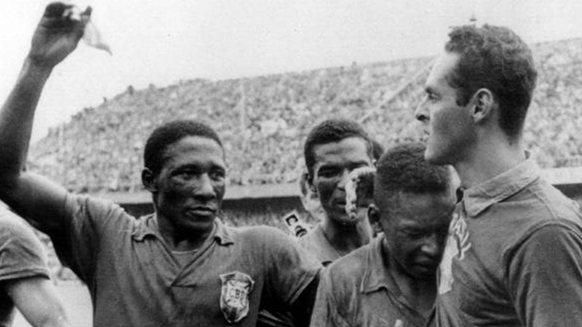 FOOTBALL 1958 World Cup Brazil Pele