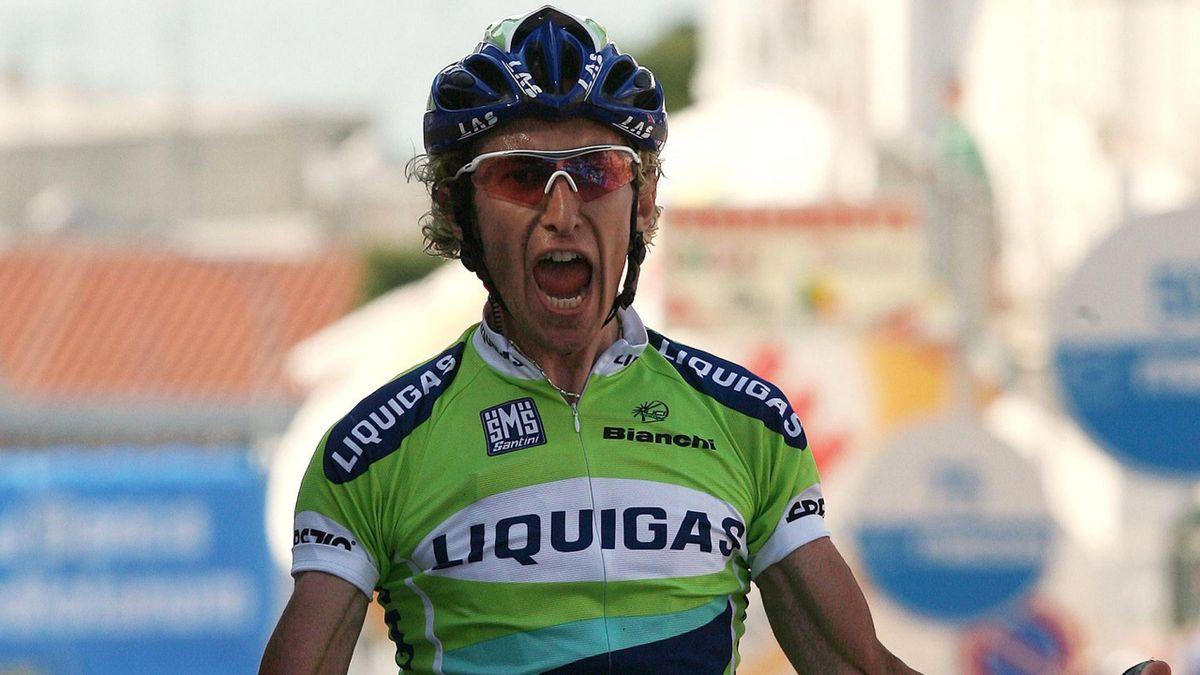 CYCLING Giro d'Italia Pellizotti