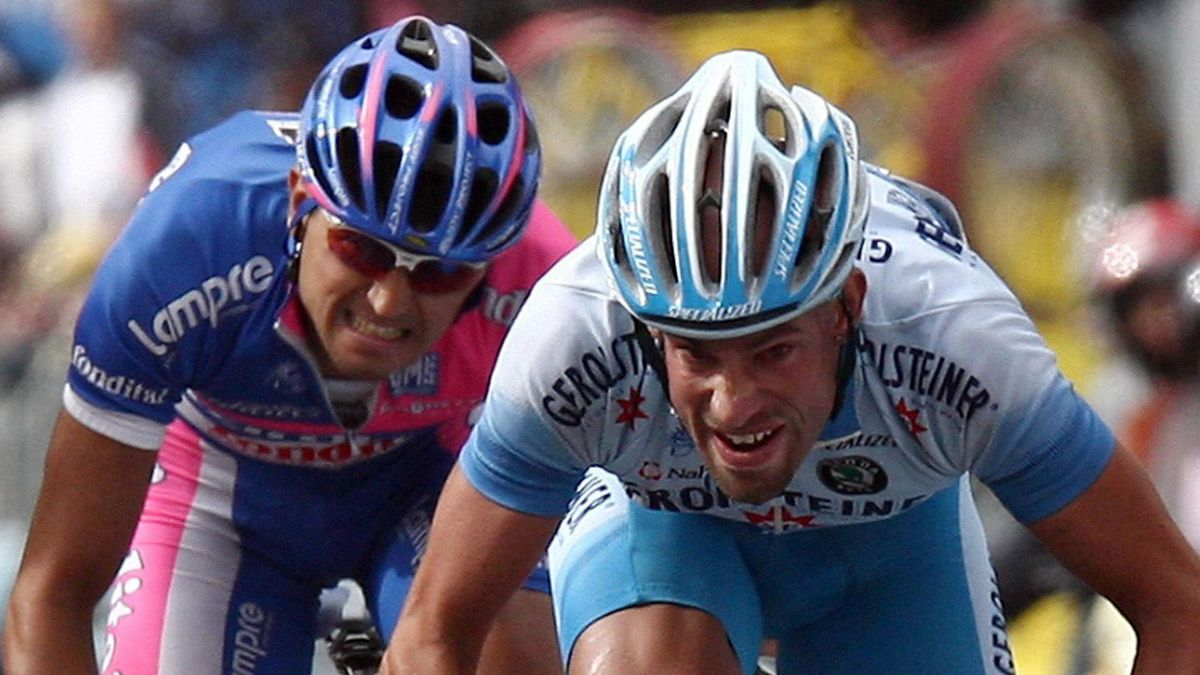 CYCLING 2006 Giro d'Italia Stefan Schumacher Marzio Bruseghin stage 18 slideshow