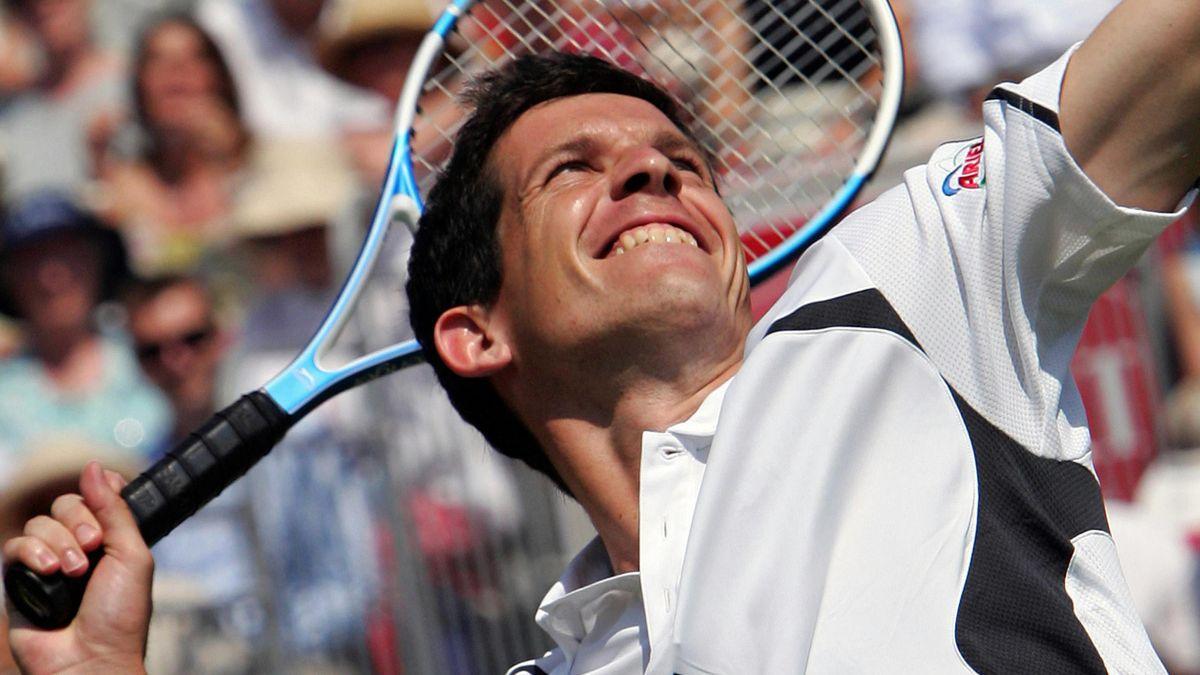 TENNIS 2006 ATP Queen's Club 1R Henman