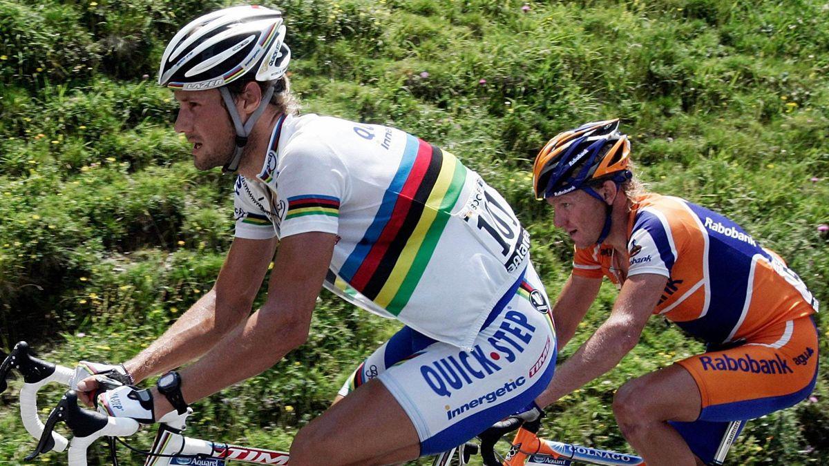 CYCLING 2006 Tour de France Quick Step Tarbes - Val d'Aran/Pla-de-Beret (Esp) Boonen