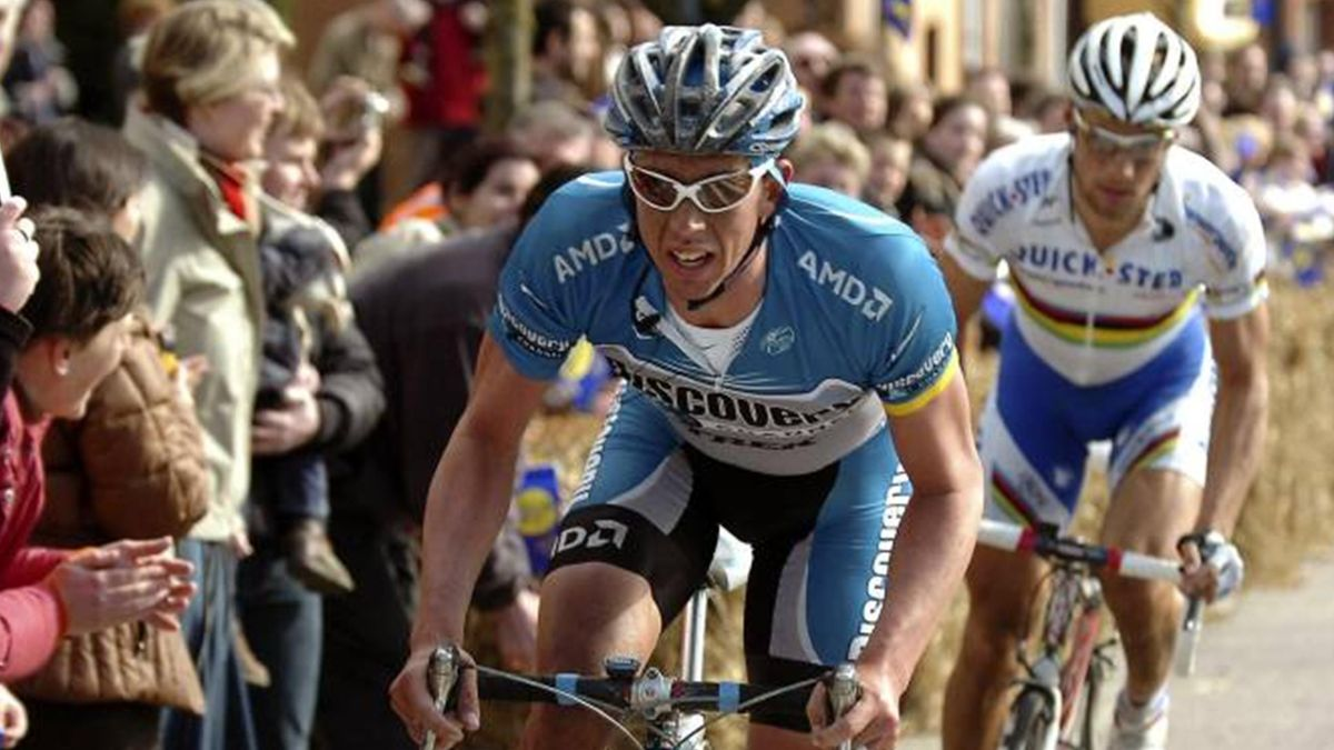 CYCLING Hoste Boonen Quickstep Discovery Channel