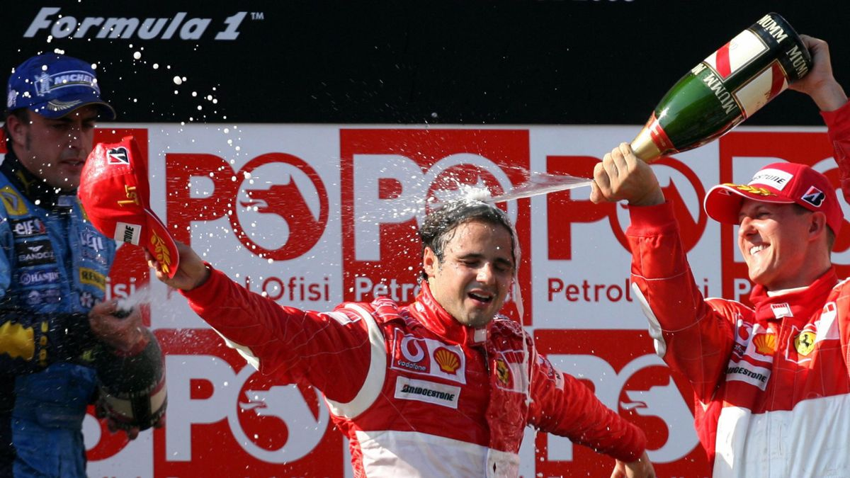 FORMULA 1 2006 Turkish GP Massa podium