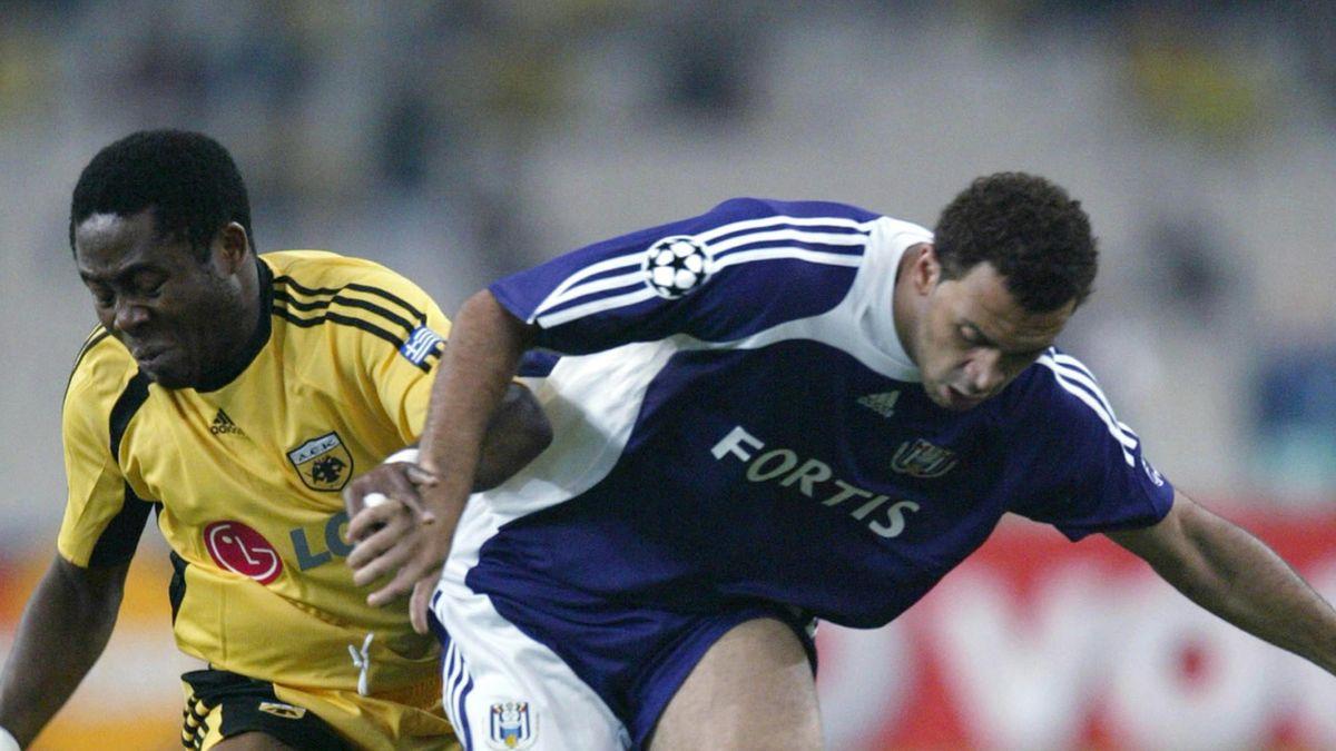 FOOTBALL Champions League Udeze vandenborre AEK Athens Anderlecht