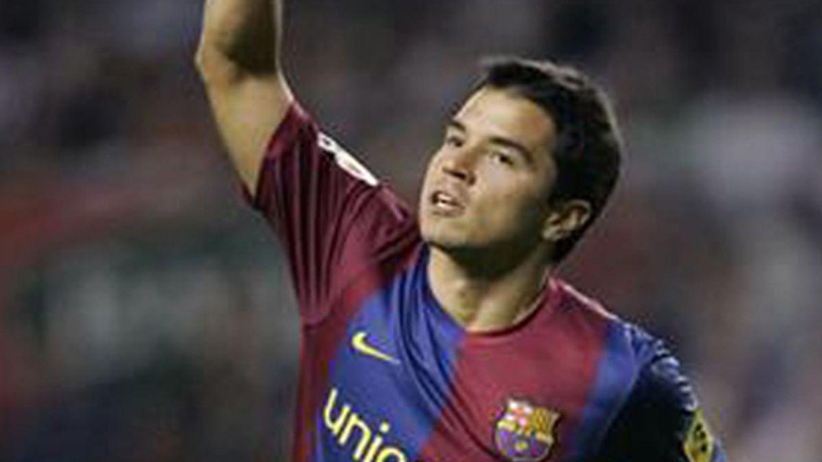 FOOTBALL 2006/2007 La Liga jornada5 Athletic Bilbao Barcelona Saviola