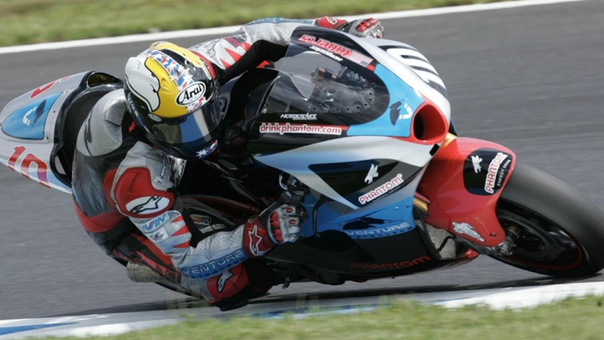 MOTORCYCLING 2006 Test Motegi Team Roberts KR Kenny Roberts Jr