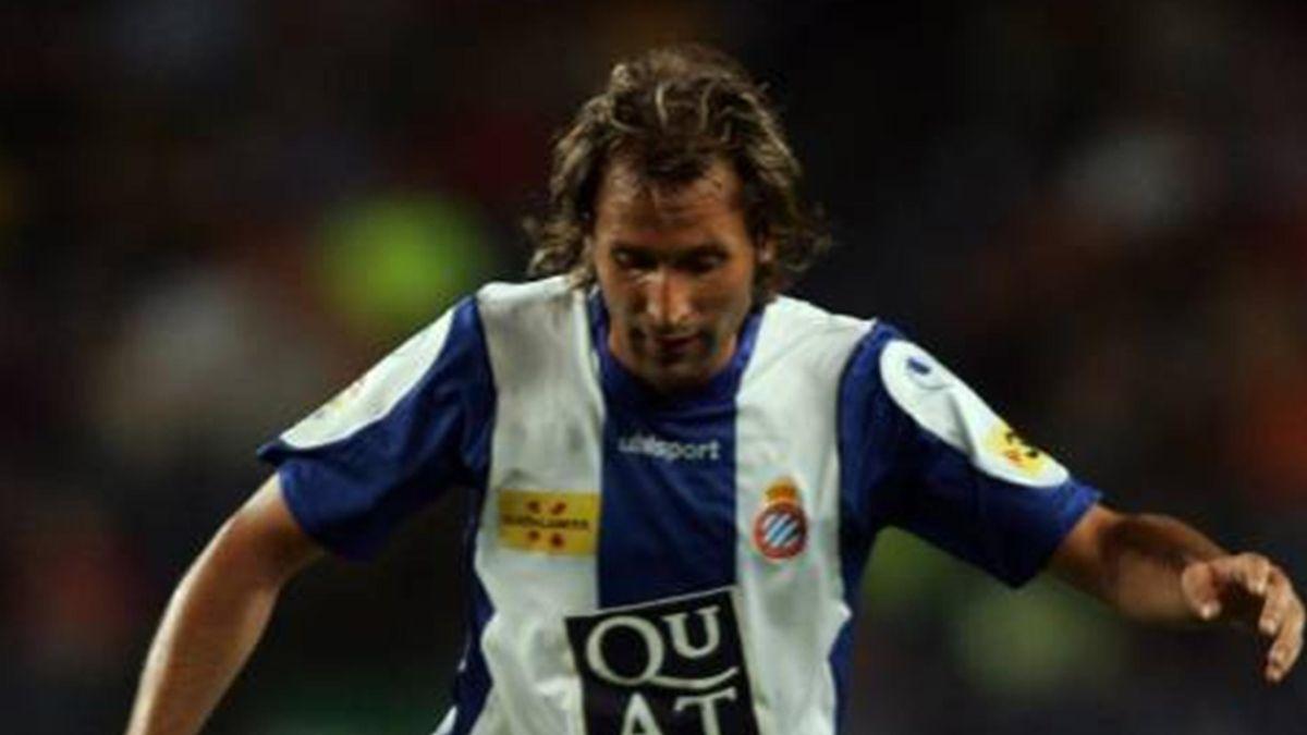 FOOTBALL 2006 Spanish Super Cup Rufete (Espanyol)