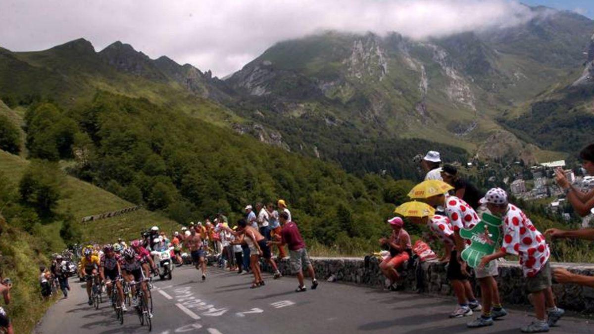 CYCLING 2007 Tour de France Col de l'Aubisque
