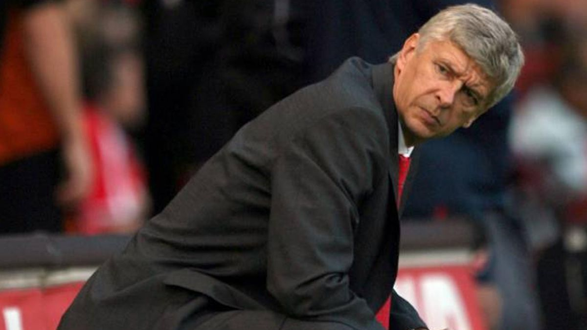 FOOTBALL Arsene Wenger Arsenal