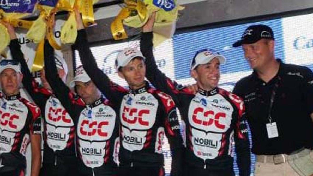 CYCLING 2006 Vuelta a Espana Carlos Sastre Riis CSC