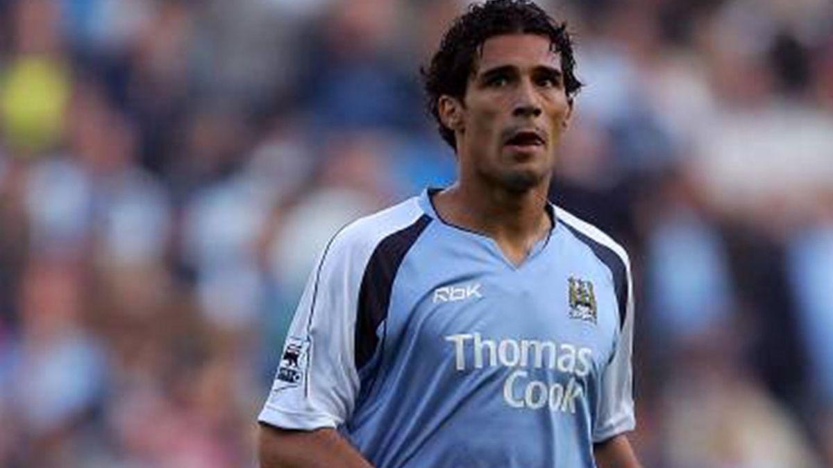 FOOTBALL 2006-2007 Premiership Manchester City Bernardo Corradi