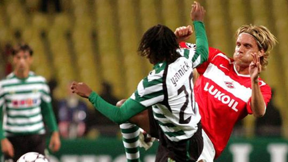 FOOTBALL Spartak Sporting Kovac Yannick
