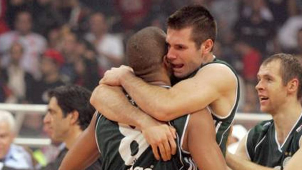 BASKETBALL Sani Becirovic Panathinaikos