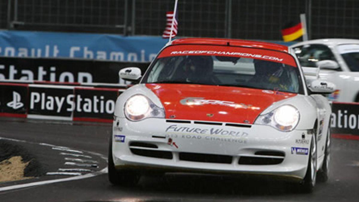 MOTORSPORTS 2006 Race of Champions 2006 Travis Pastrana Porsche