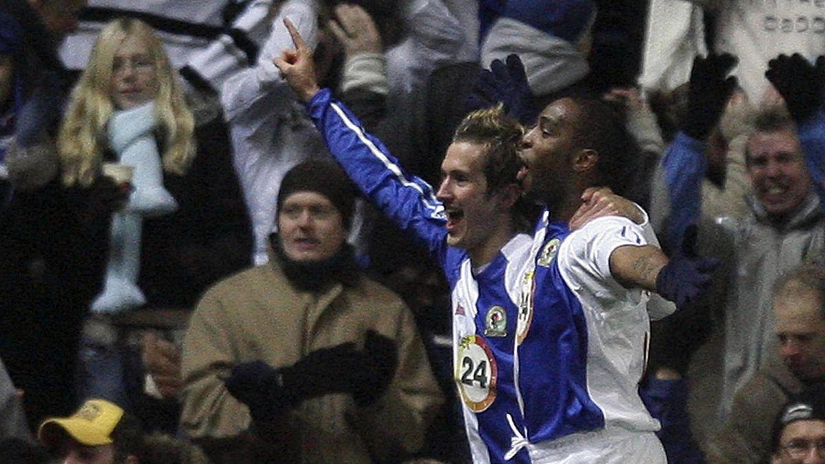 FOOTBALL 2006-2007 Premiership Blackburn Rovers Blackburn-Liverpool McCarthy Pedersen