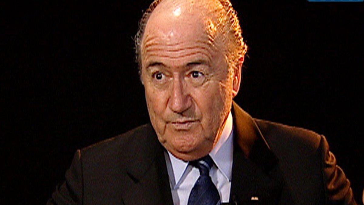 FOOTBALL TF 14/01/07 Joseph Blatter Itw