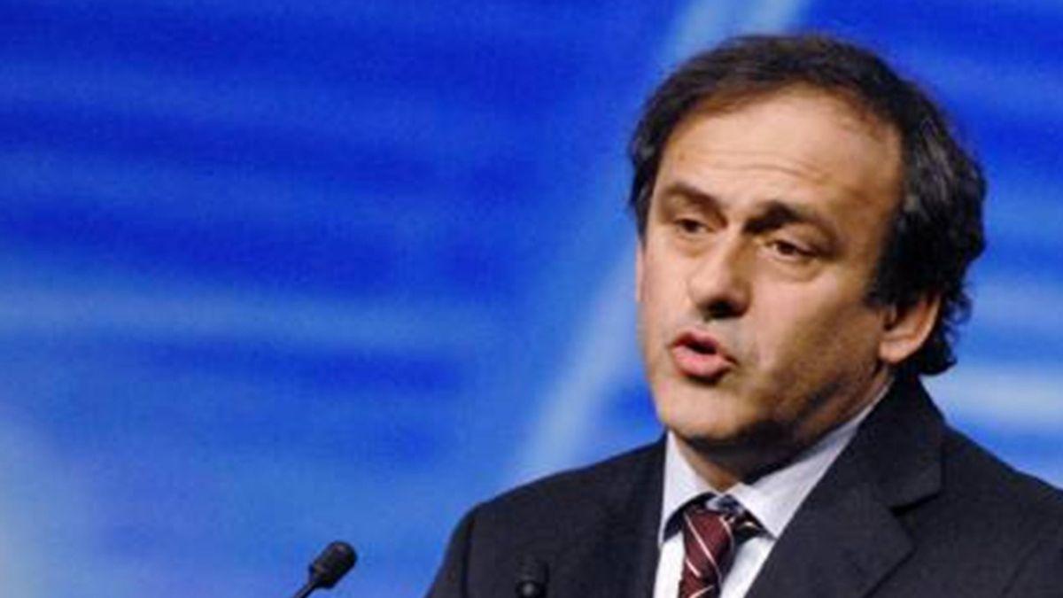 FOOTBALL UEFA 2007 Platini