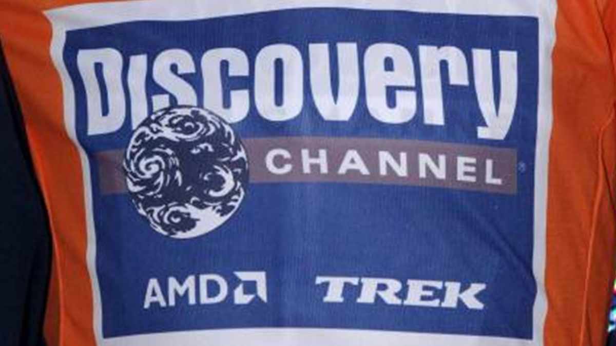 CYCLING 2007 Discovery Channel Logo Feature