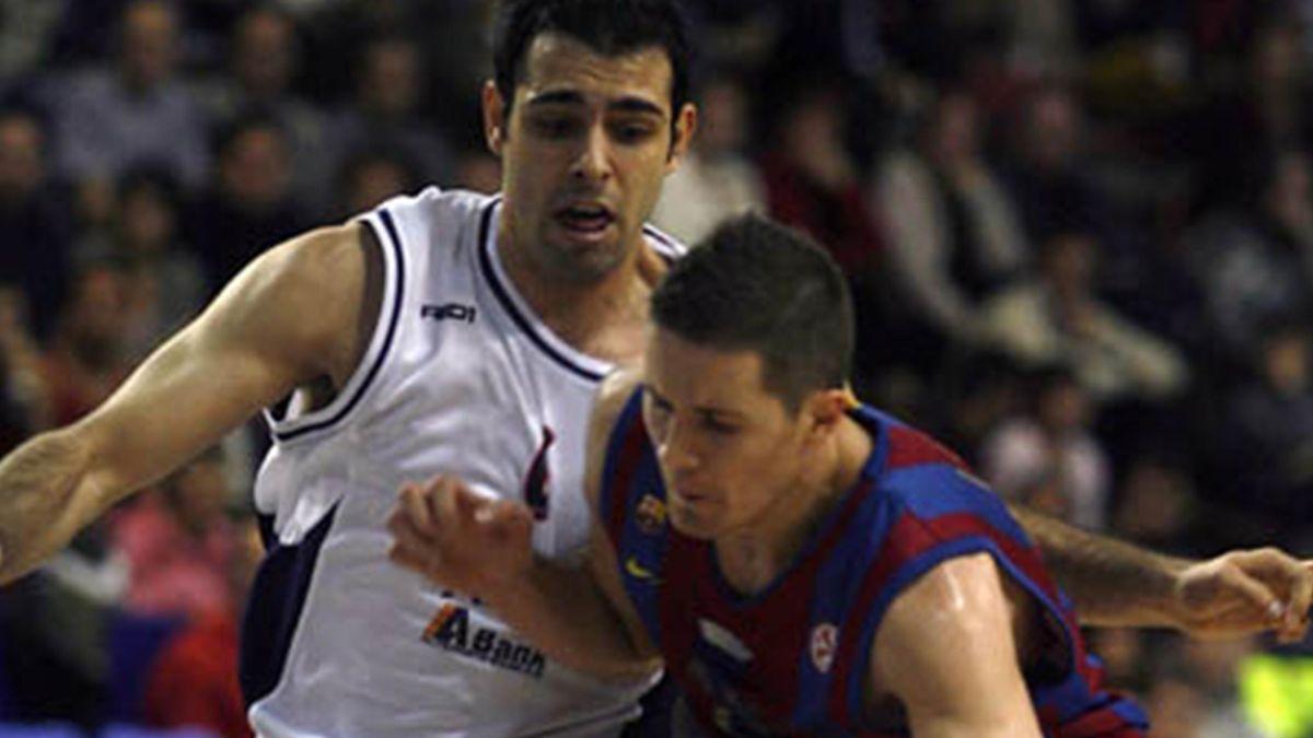 BASKETBALL 2006-2007 Euroleague Barcelona Barcelona-Efes Istanbul Lakovic