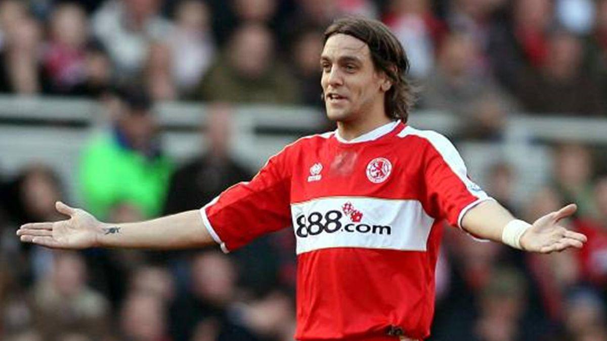 FOOTBALL 2006/2007 Premiership Middlesbrough Jonathan Woodgate
