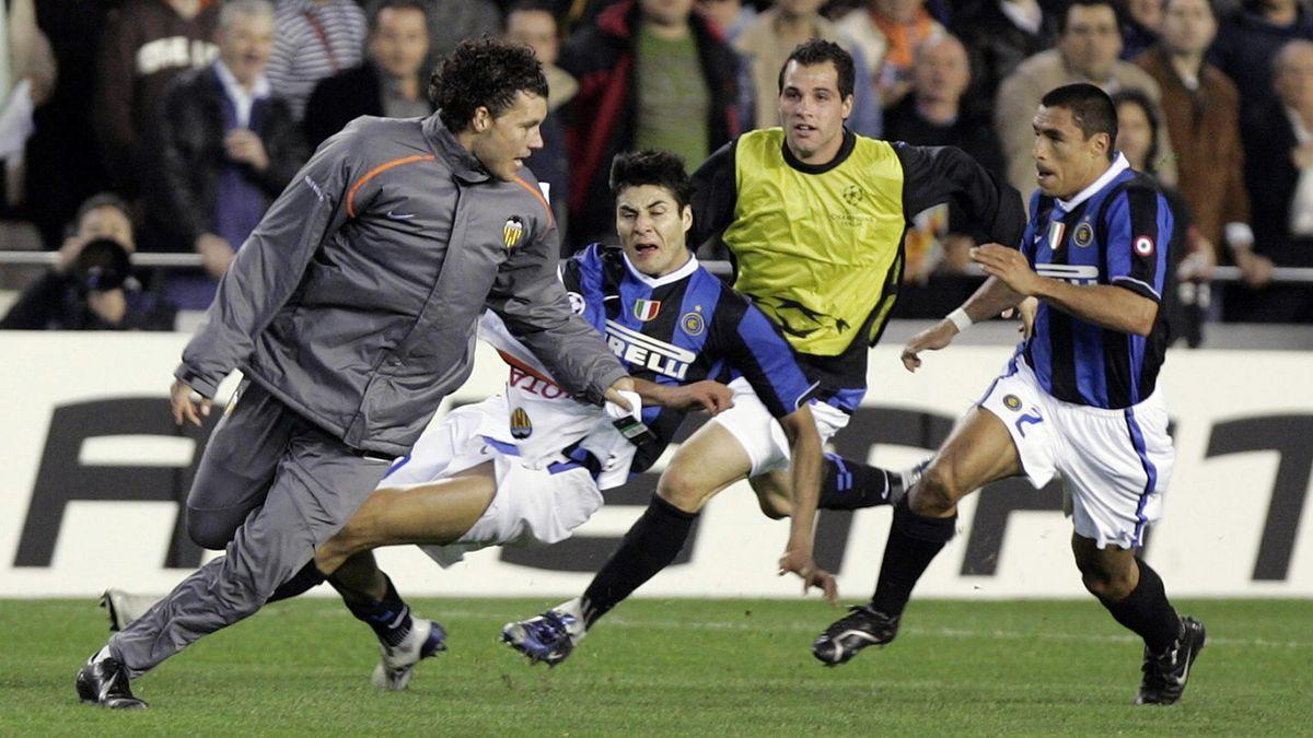 FOOTBALL David Navarro valencia Inter 2007