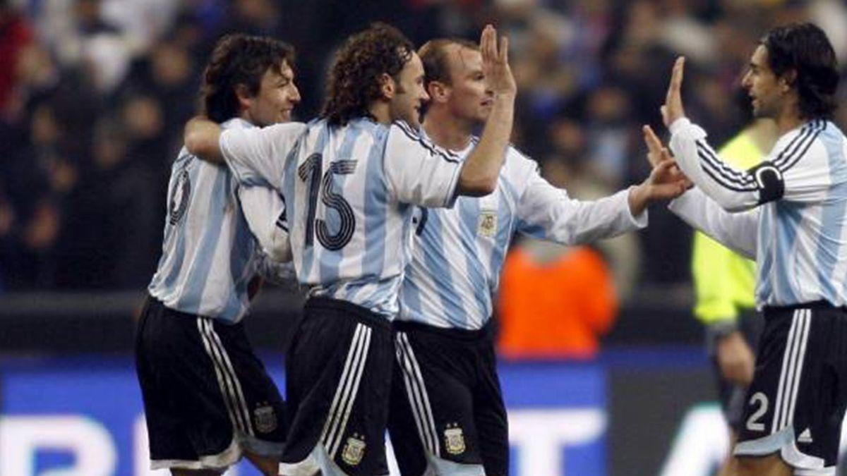 FOOTBALL 2007 Argentina v France international friendly