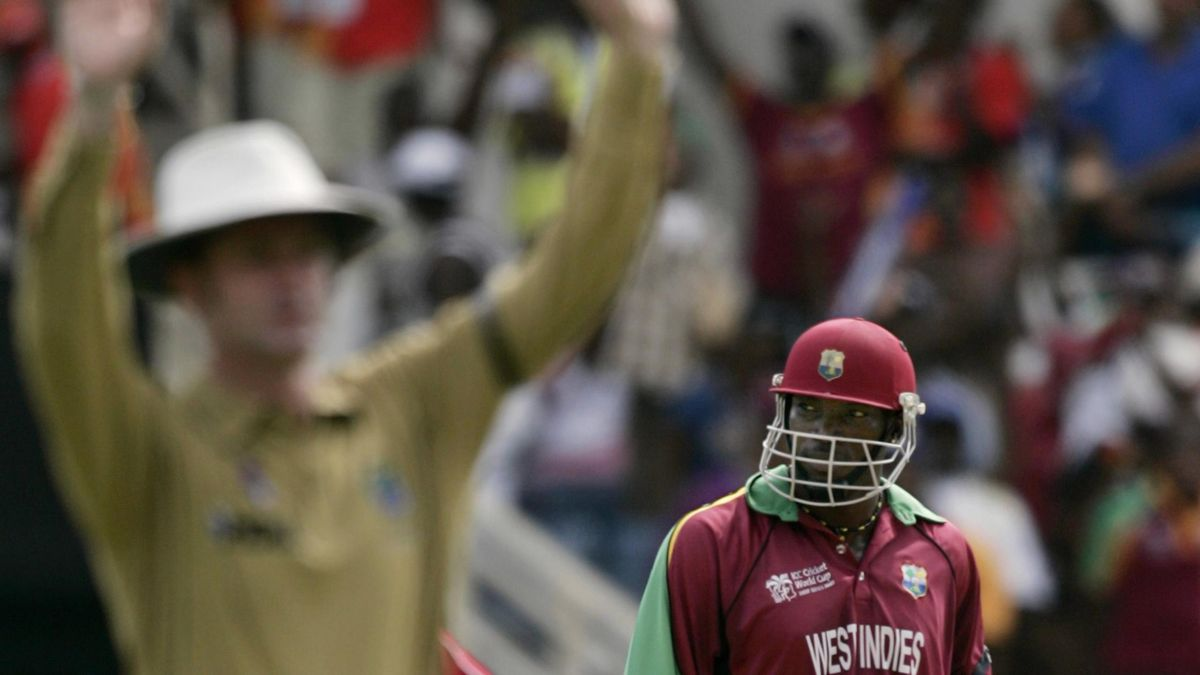 CRICKET; Chris Gayle, West Indies, World Cup 2007