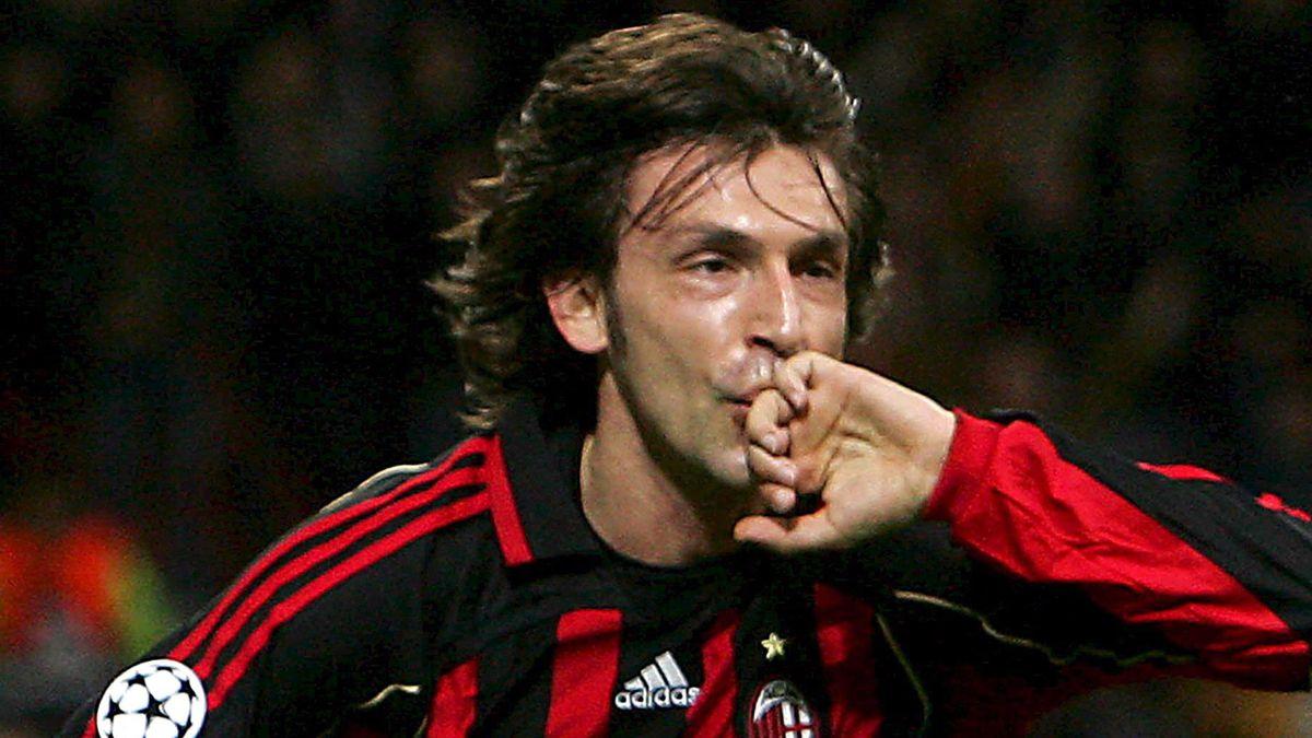 FOOTBALL 2006-2007 Champions League Milan-Bayern Pirlo