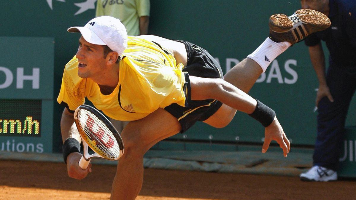 TENNIS 2007 Monte Carlo Masters Novak Djokovic