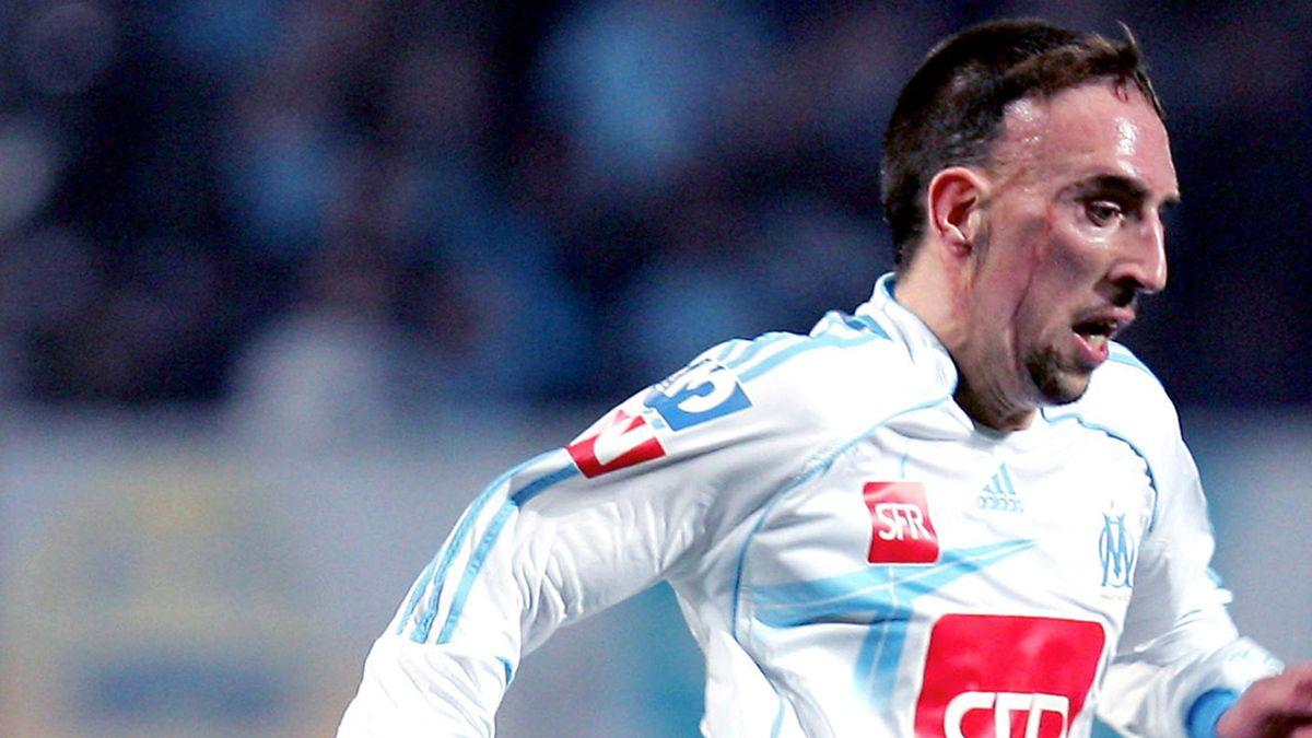 FOOTBALL Coupe de France Marseille Ribéry