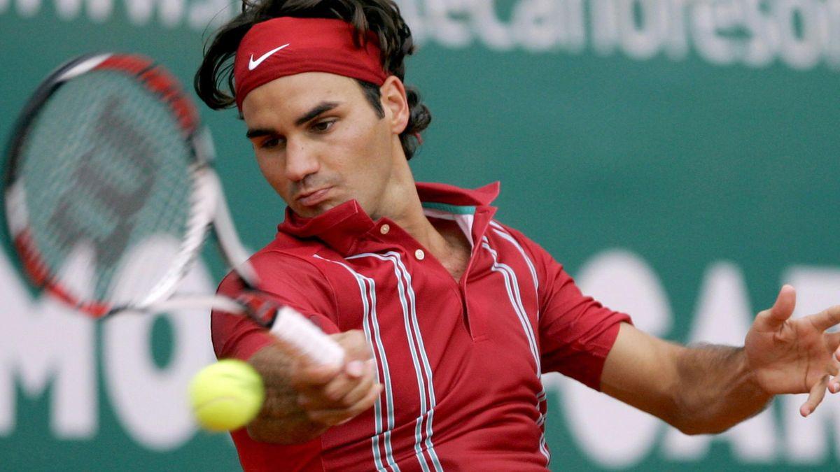 TENNIS 2007 Monte Carlo Masters Roger Federer round three