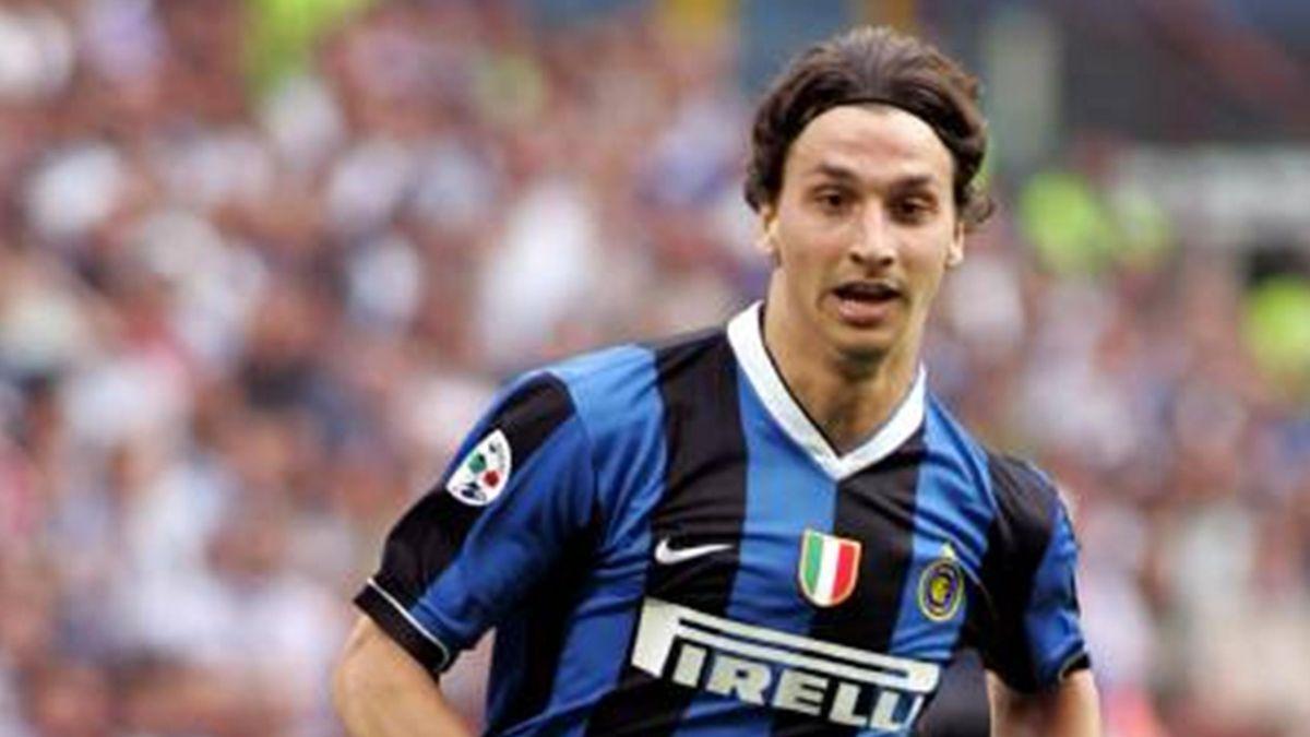 FOOTBALL 2006/7 Serie A Internazionale Zlatan Ibrahimovic